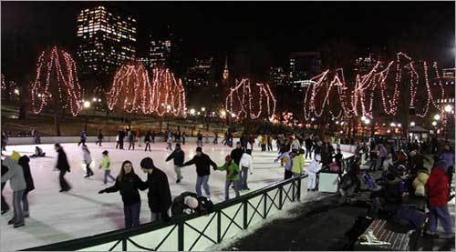365 things to do in Boston frog pond