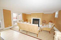 renovated penthouse in Back Bay on Commonwealth Ave