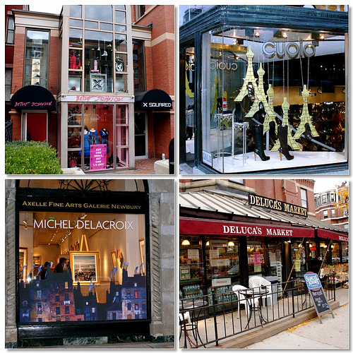 365 things to do in Boston newbury street